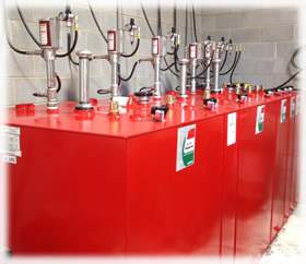 Lubricant Tank And Equipment Set Up And Installation Northeast Lubricants